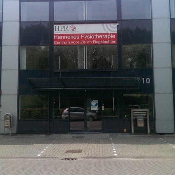HPR gevelreclame de plakboer